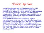 chronic hip pain