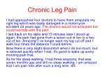 chronic leg pain