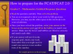 how to prepare for the fcat fcat 2 019