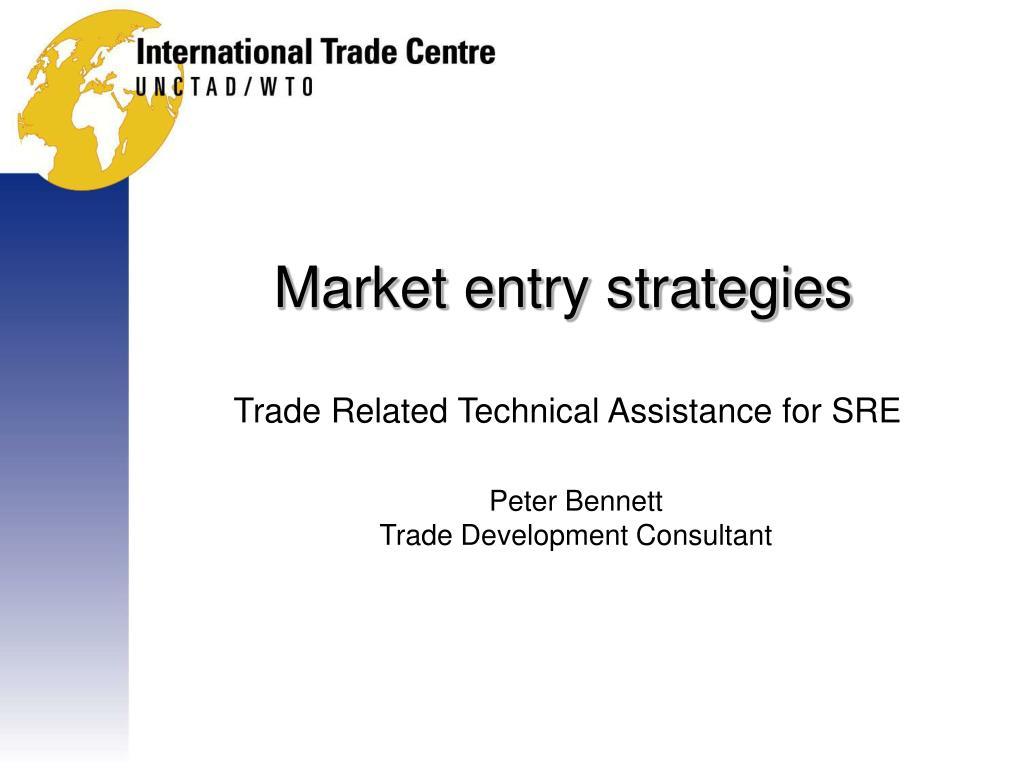 market entry strategies l.