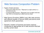 web services composition problem