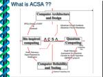 what is acsa