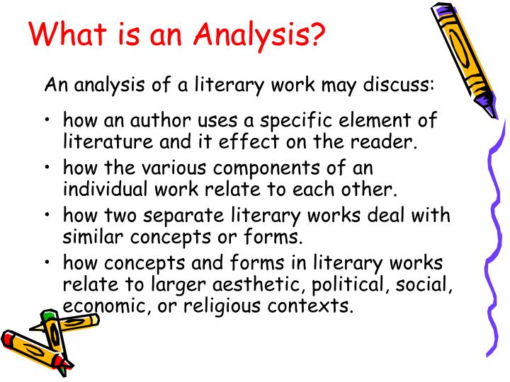 Ppt  Writing A Literary Analysis Powerpoint Presentation  Id