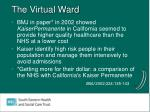 the virtual ward