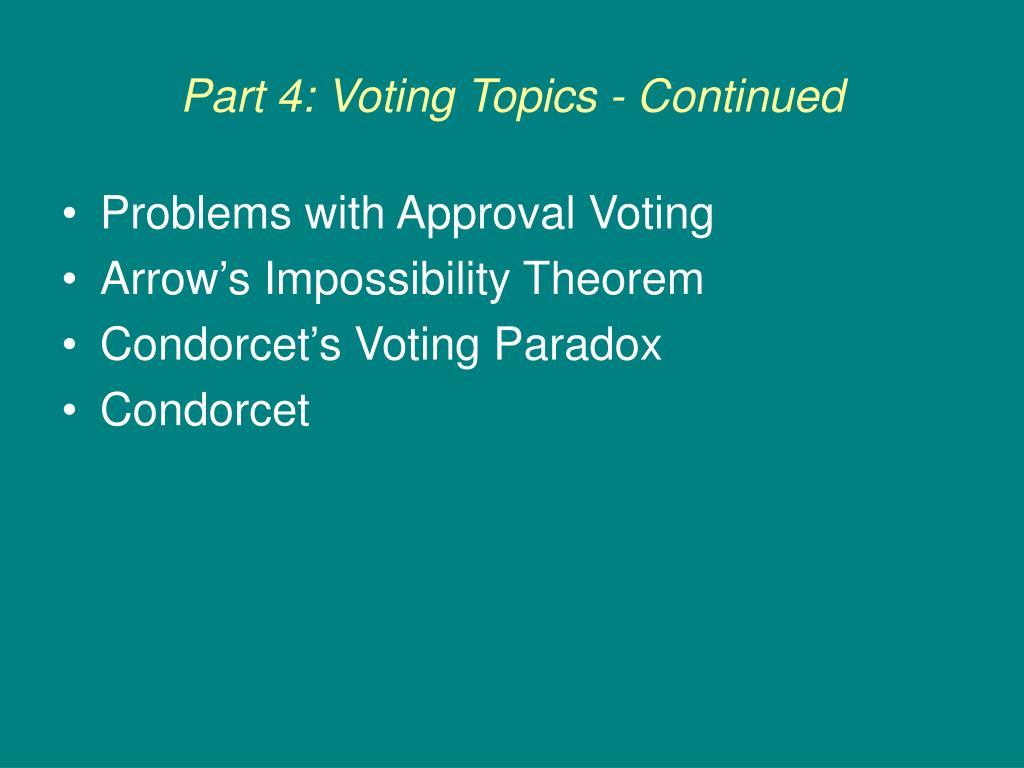 part 4 voting topics continued l.