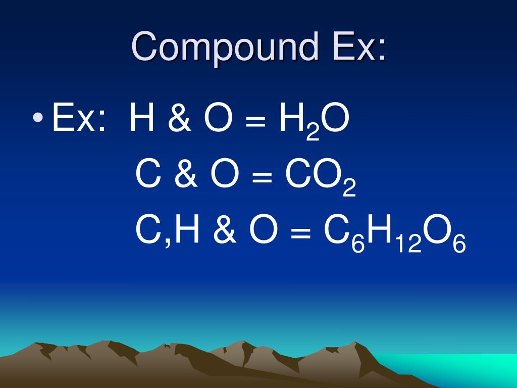 Compound Ex: