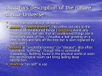 buddha s description of the nature of our universe