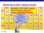 elements their valence shells10