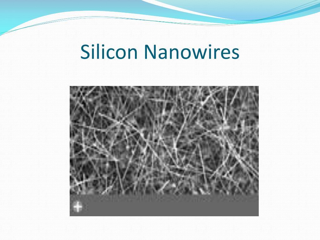 silicon nanowires l.