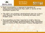 municipal planning