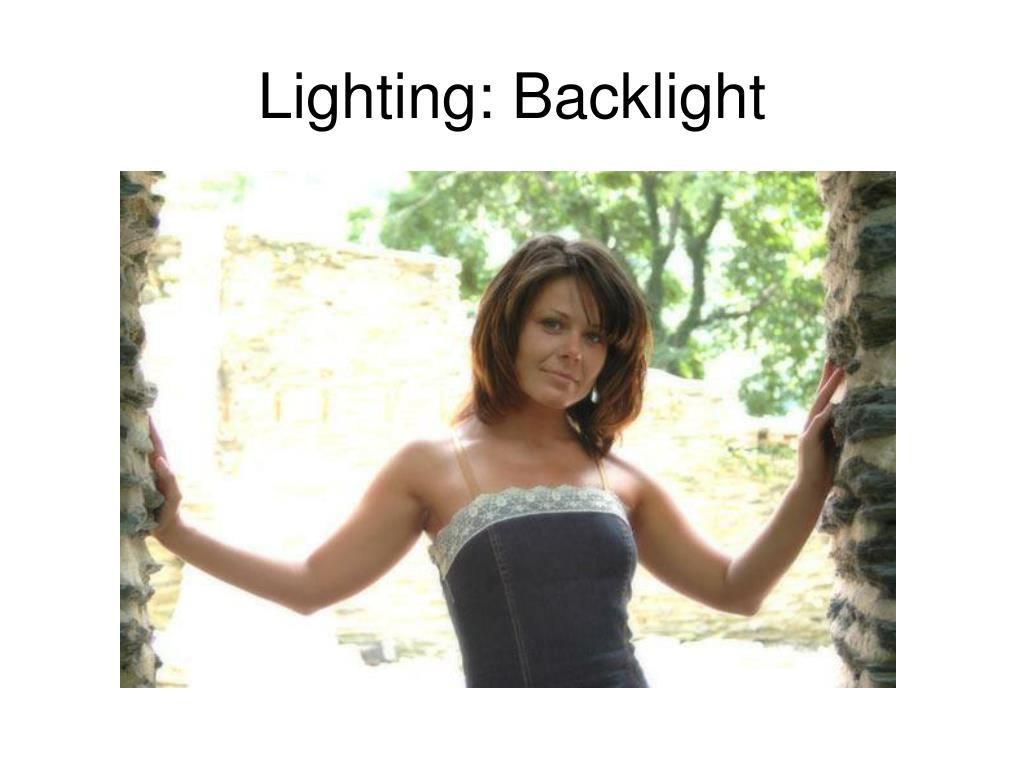 Lighting: Backlight