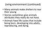 living environment continued52