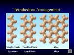 tetrahedron arrangement