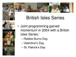 british isles series