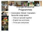 intergenerational programmes
