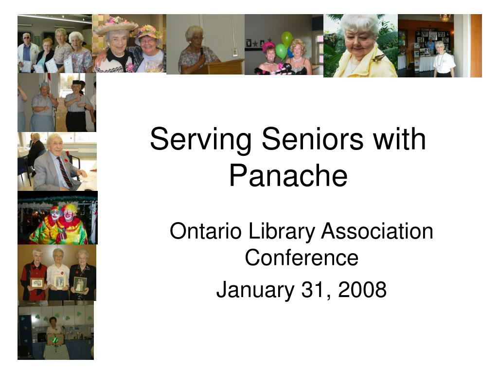 serving seniors with panache l.