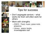 tips for success45