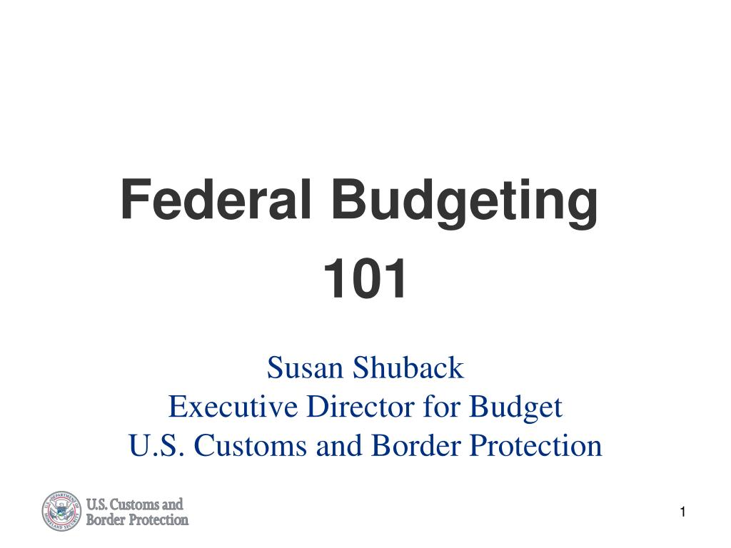 susan shuback executive director for budget u s customs and border protection l.
