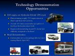 technology demonstration opportunities