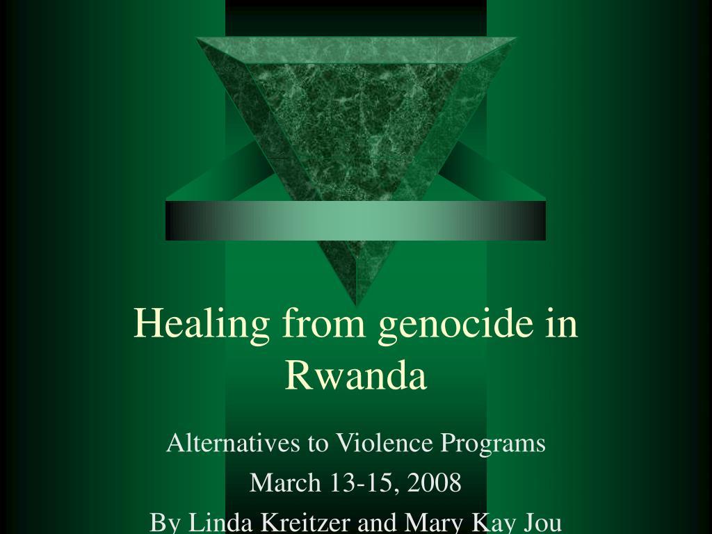 healing from genocide in rwanda l.