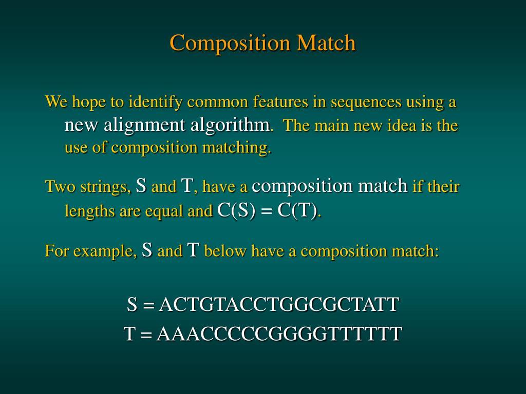 Composition Match