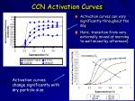 ccn activation curves