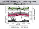 diurnal variability in ccn mixing state mexico city21