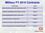 military fy 2010 contracts32