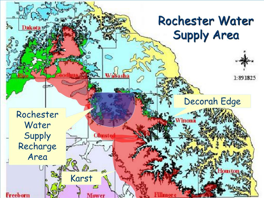 Rochester Water Supply Area