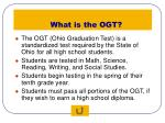 what is the ogt