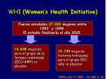 whi women s health initiative