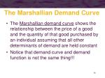 the marshallian demand curve36