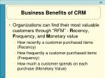 business benefits of crm