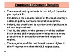 empirical evidence results48