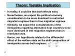 theory testable implication22