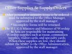 office supplies supply orders31