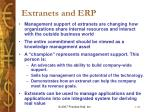 extranets and erp