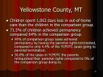 yellowstone county mt