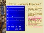why is reviewing important