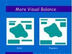 more visual balance