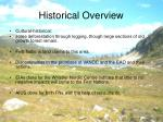 historical overview7