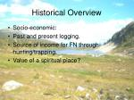 historical overview8