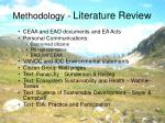 methodology literature review