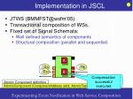 implementation in jscl31