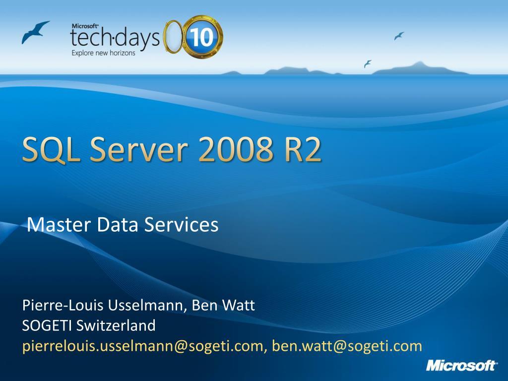 sql server 2008 r2 l.
