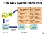 htn only system framework56