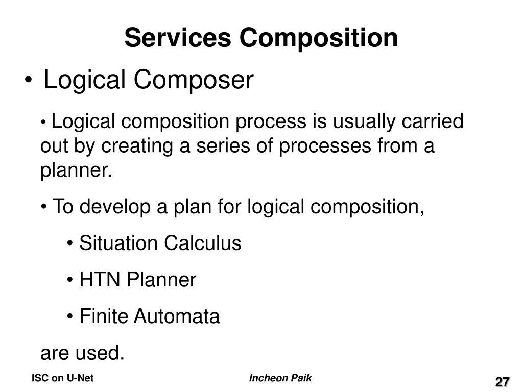 Services Composition