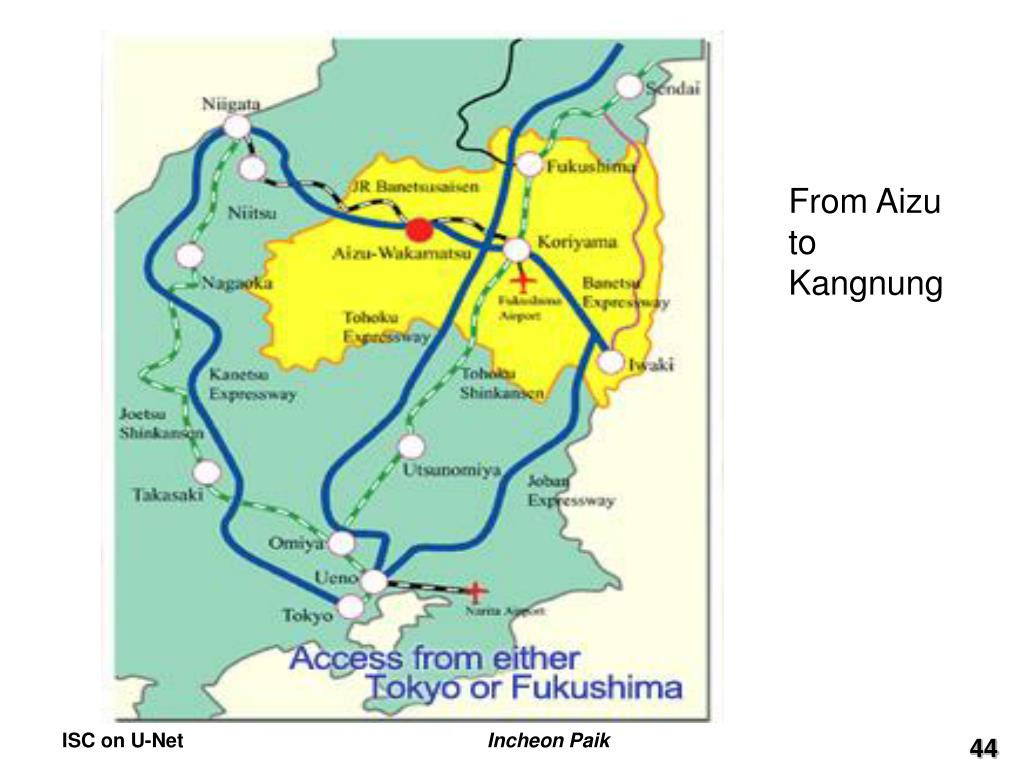 From Aizu to Kangnung