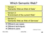which semantic web21