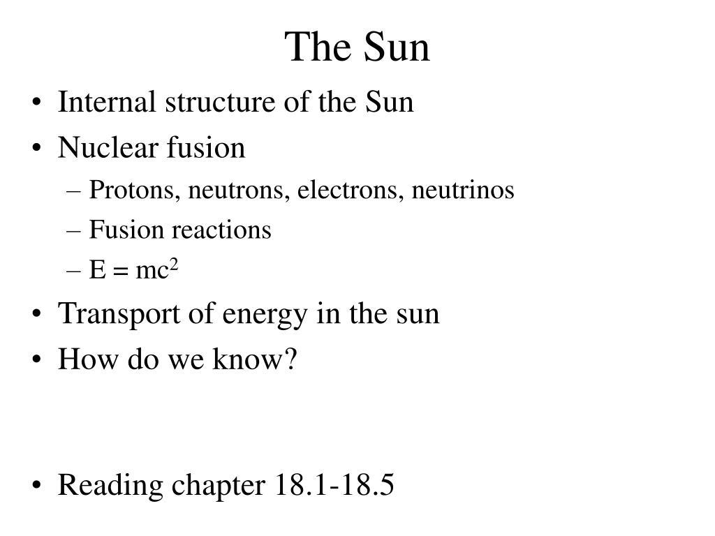 the sun l.